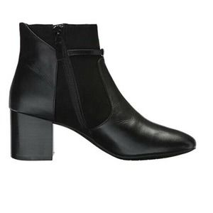 Cole Haan Grand Buckle Leather Suede Bootie 6B